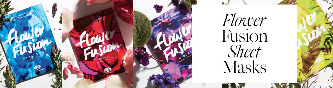 Origins Flower Fusion Sheet Masks