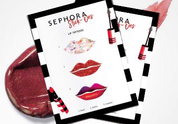 SEPHORA Stick-Ons Lip Tattoos