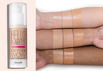 BENEFIT COSMETICS Hello Flawless Oxygen Wow swatch
