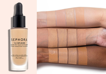 Sephora Collection Teint Infusion Ethereal Natural Finish Foundation Review