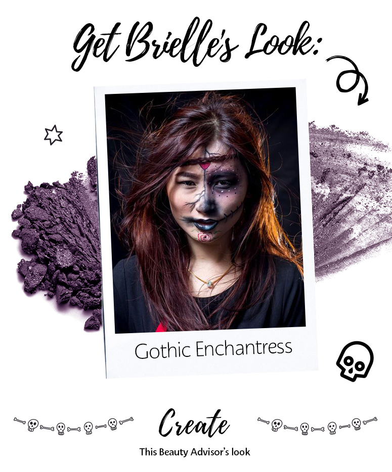 Get the look: Gothic Enchantress by Brielle