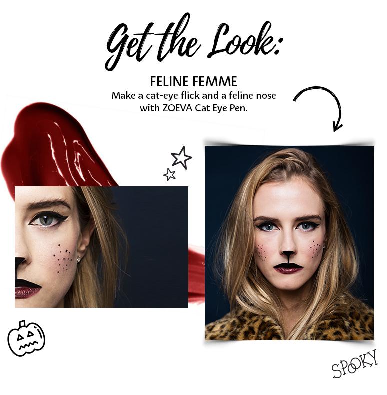 Get the look: Feline Femme