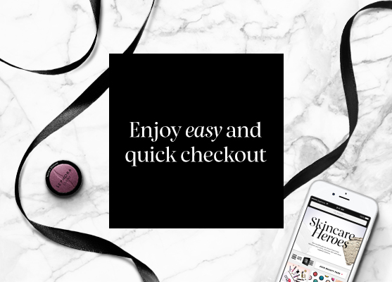 Enjoy easy and quick checkout