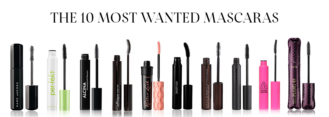 The 10 most wanted mascaras