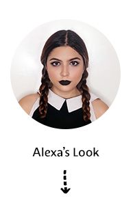 Get the look: Goth girl by Alexa