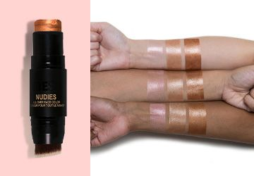 NUDESTIX Nudies All Over Face Color Bronze + Glow swatch