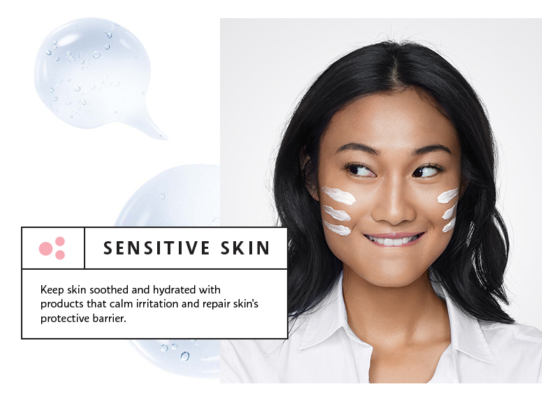 Sensitive Skin: Keep skin soothed and hyrated with products that calm irritation and repair skin's protective barrier.  Beauty Pass Exclusive. Use code SKINPH. Receieve a mini Pixi Glow Tonic (15ml) and SEPHORA COLLECTION Triple Action Cleansing Water (15ml) when you spend PHP3,500 or more on skincare items^.