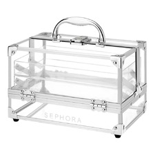 Clear Medium Traincase