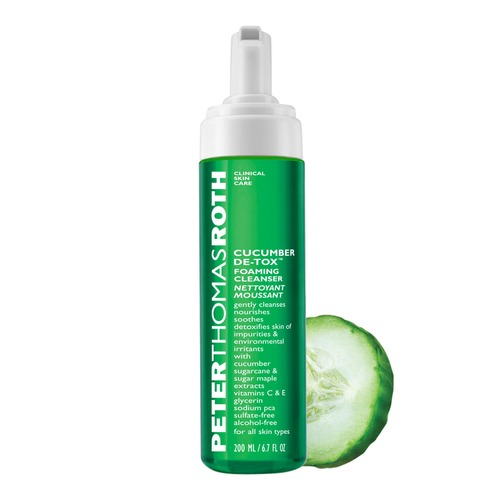 Cucumber De Tox Foaming Cleanser 200ml