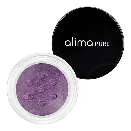 Closeup    0004 aubergine luminous shimmer eyeshadow alima pure