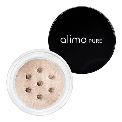 Closeup    0001 champagne pearluster eyeshadow alima pure