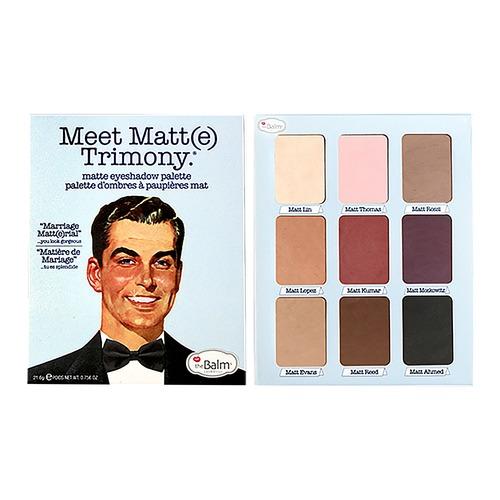 Meet Matt(E) Trimony® Eyeshadow Palette