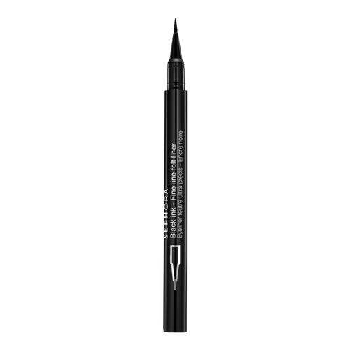 Black Ink Fine Line Felt Liner