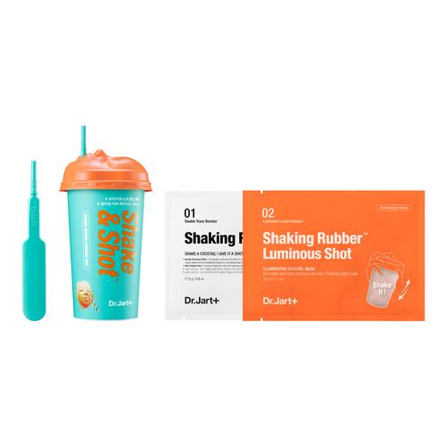 Shake & Shot   Luminous Shot Shaking Rubber Mask