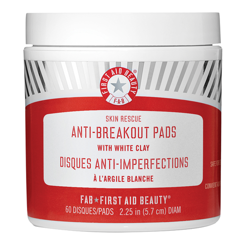 Skin Rescue Anti Breakout Pads With White Clay
