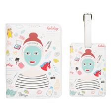 Passport Holder & Luggage Tag Set