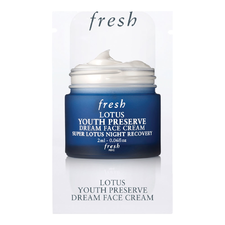 Lotus Youth Preserve Dream Face Cream   Night Recovery (2ml)
