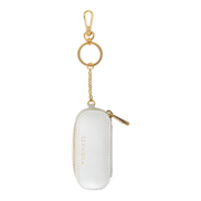 Lipstick Holder Keychain (White)
